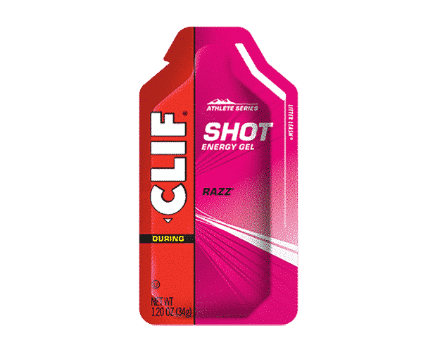 CLIF SHOT - Energy Gel - Raspberry - Clif Shot Energy Gel