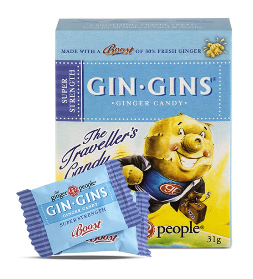 Gin Gins Ginger Candy - Super Strength Candy 31g - Candy