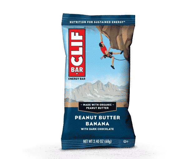CLIF Bar - Energy Bar - Peanut Butter Banana Dark Chocolate - Clif Bar & Company