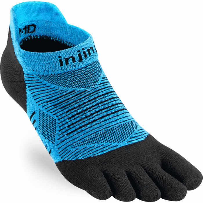Injinji Run Original Weight No-Show - Toe socks